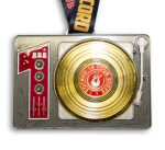 2015 Rock n Roll - Gold Record Heavy Medal