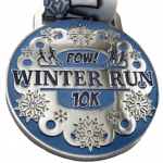 Virtual medals with POW appeal: POW Virtual Running 2015 POW Winter Run Review