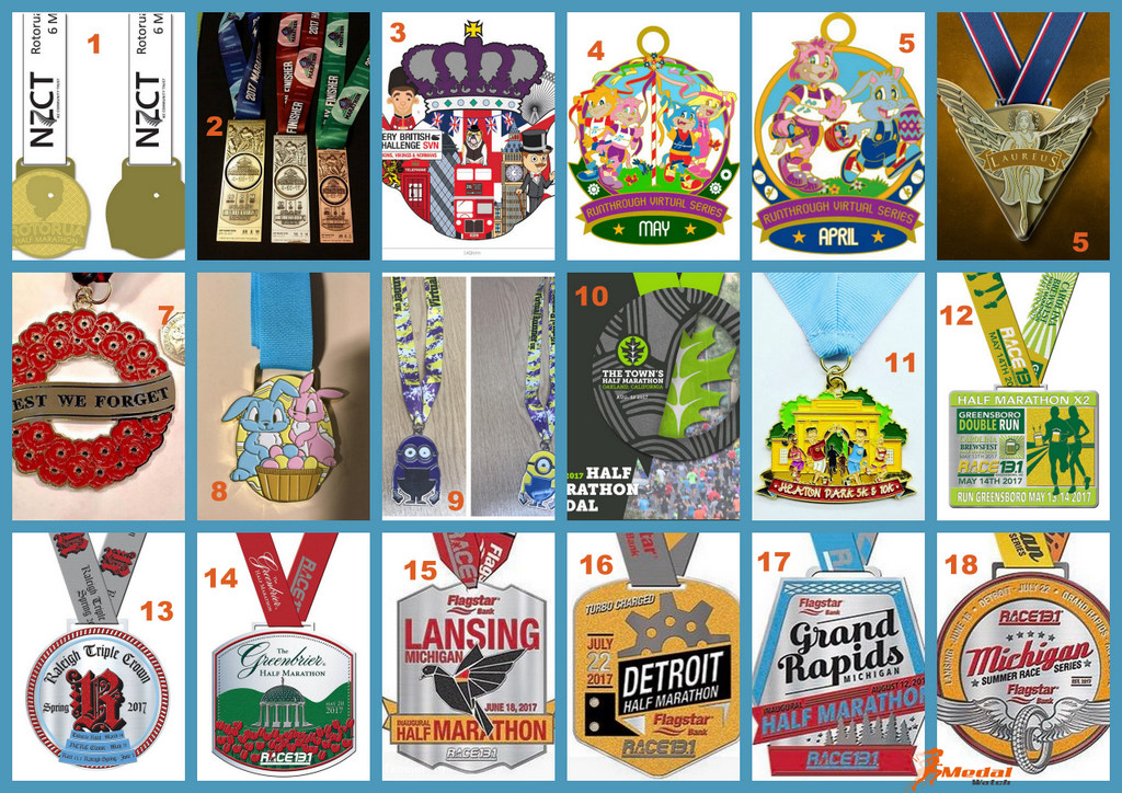 Medal Monday – Latest Medal Reveals
