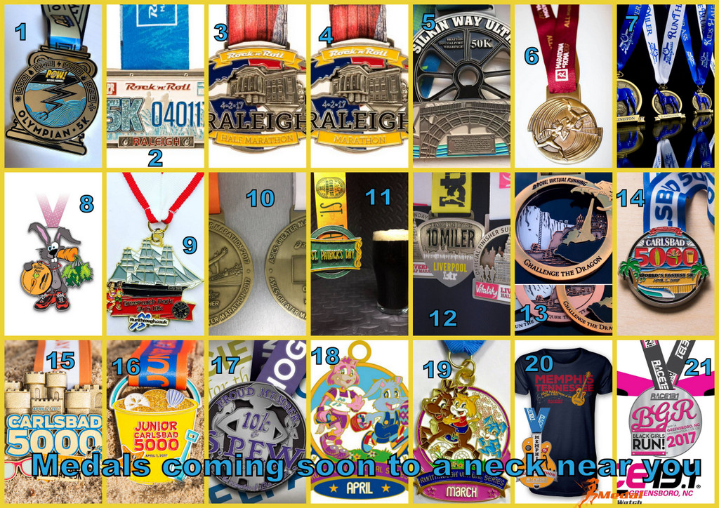 Medal Monday – Medals Coming Soon