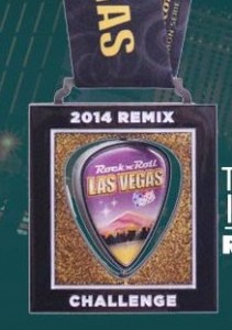 2014 Rock n Roll - Las Vegas Remix Medal