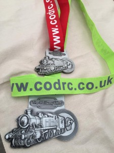 2015 Railway Ultra (2014 medal above)