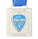2015 Rock n Roll - Virginia Beach Remix medal
