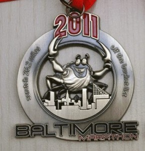 2011 Baltimore Marathon