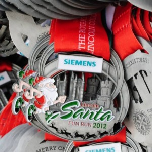 2012 Lincoln Santa Fun Run & Walk