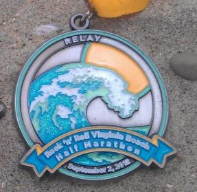 2012 Rock n Roll -  Virginia Beach Half Marathon Relay