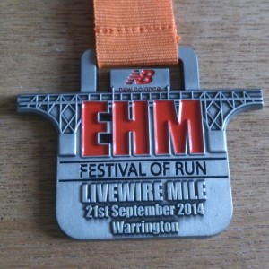 2014 English Half Marathon Livewire Mile