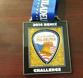 2014 Rock n Roll - Philadelphia Remix Challenge Medal