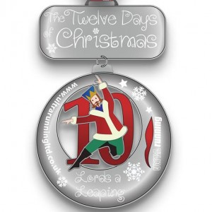 2015 12 Days of Christmas Day 10 Virtual Race