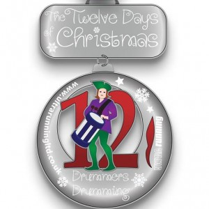 2015 12 Days of Christmas Day 12 Virtual Race