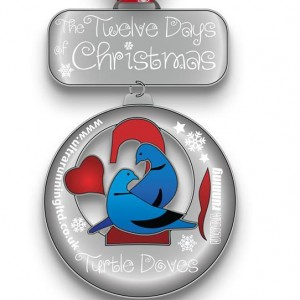 2015 12 Days of Christmas Day 2 Virtual Race
