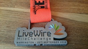 2015 English Half Marathon Livewire Mile