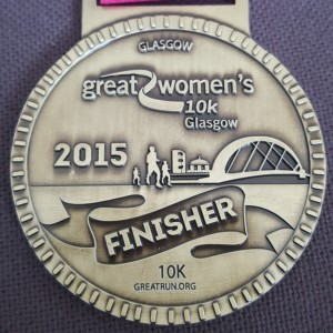 2015 Great Women's Run Glasgow 10k