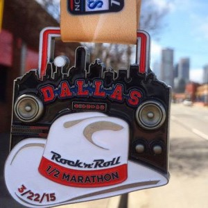 2015 Rock n Roll - Dallas Half