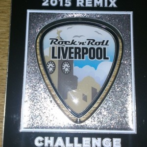 2015 Rock n Roll - Liverpool Remix Medal
