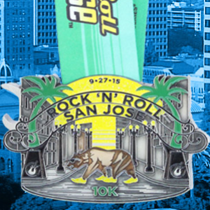 2015 Rock n Roll - San Jose 10k