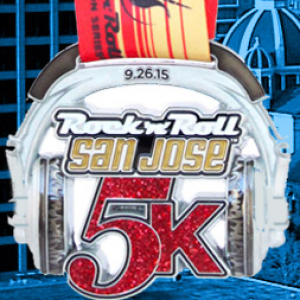2015 Rock n Roll - San Jose 5k
