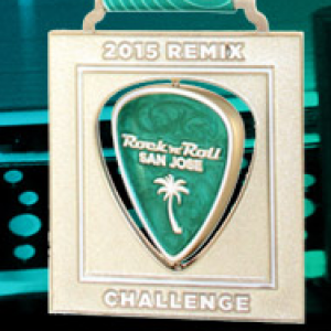 2015 Rock n Roll - San Jose Remix Medal