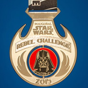 2015 Star Wars Rebel Challenge (Back)