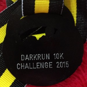 2015 Warrington DarkRun 10k (Back)