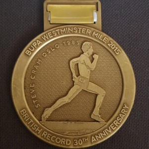 2015 Westminster Mile (Back)