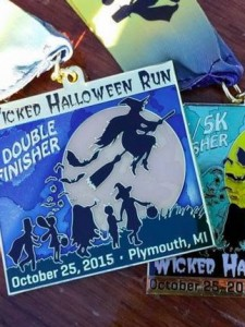 2015 Wicked Halloween Run Double Finisher