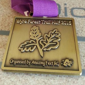 2015 Wyre Forest Trail Half