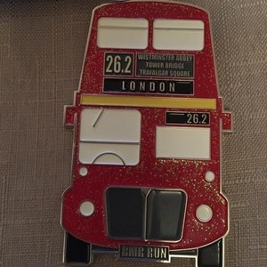 2016 RMR London (Bus medal) challenge Virtual Runner UK