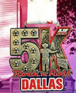 2016 Rock n Roll - Dalls 5k