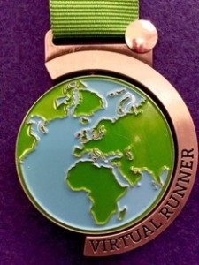 2016 Run the World Challenge Virtual Runner UK