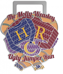 2016 The Molly Weasley Ugly Jumper Run 5k