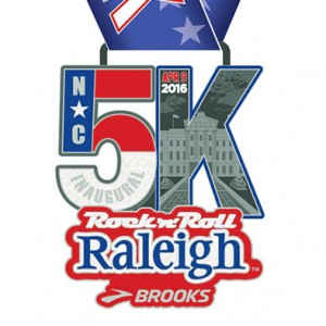 2016 Rock n Roll - Raleigh 5k