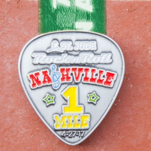 2017 Rock n Roll - Nashville 1 Mile