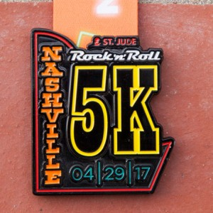 2017 Rock n Roll - Nashville 5k 29042017 Rock n Roll Marathon Series