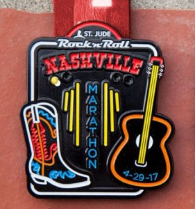 2017 Rock n Roll - Nashville Marathon