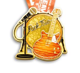2015 Rock n Roll - Heavy Medal - Rock Trio