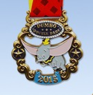2015 Dumbo Double Dare medal