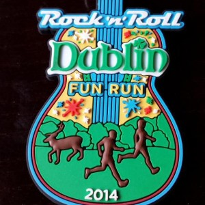 2014 Rock n Roll - Dublin Fun Run