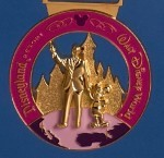 2015 Coast to Coast medal (Pink)