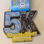 Rock n Roll - Liverpool 5k medal