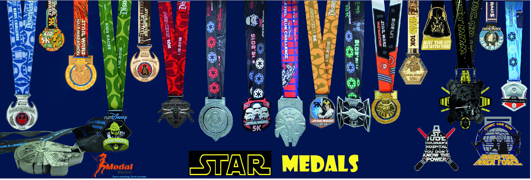 Over 1,000 medals in our archive gallery