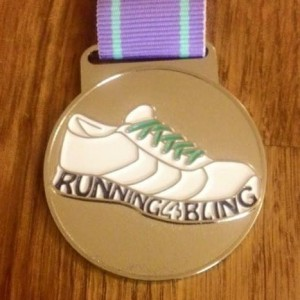 2016 Running4Bling Launch Medal